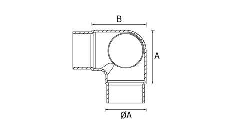 Esquema conector inox CT205