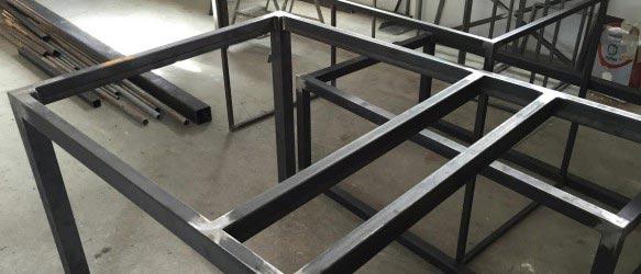 Fabricación de muebles en hierro