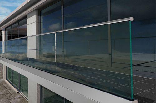 Sistemas de barandillas de vidrio