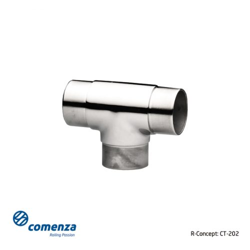 Conector para poste intermedio barandillas inox CT-205