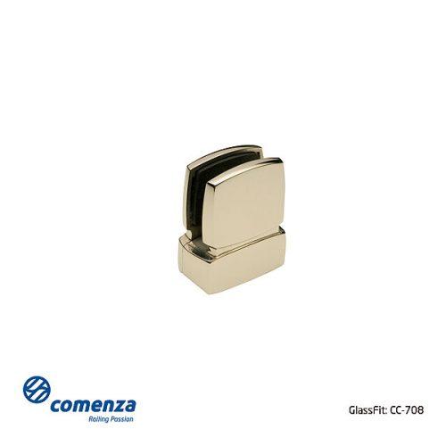 Pinza de acero inoxidable para vidrio CC-708 esquema técnico