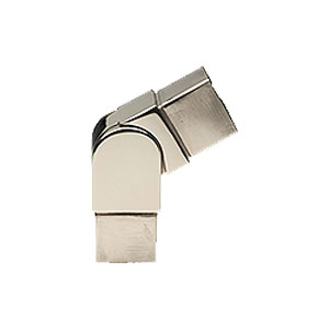 Conectores y codos para barandillas de acero inoxidable linea Square-it