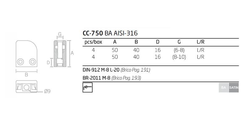 Ficha tecnica CC-720