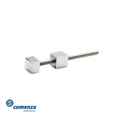 soporte lateral individual para poste cuadrados barandilla inox