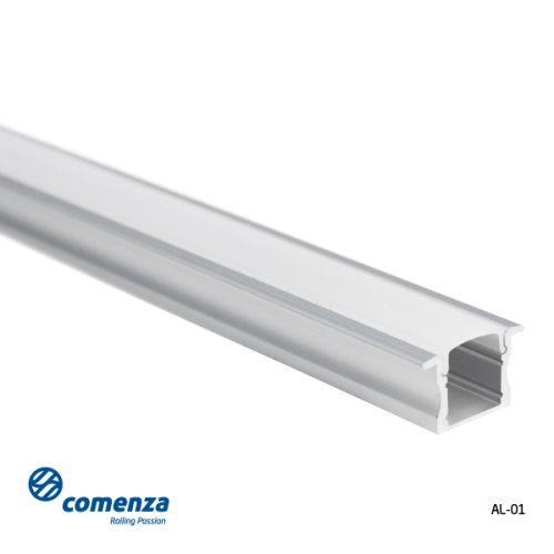 perfilería de aluminio para led con difusor