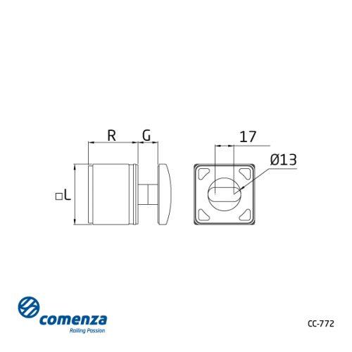 plano soporte laterac CC-772 comenza