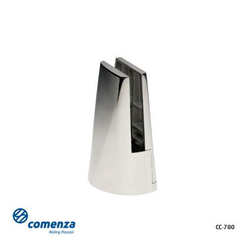 Pinza barandillas de cristal a suelo - CC-780