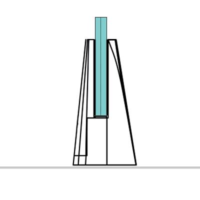 Pinzas para vidrio de suelo