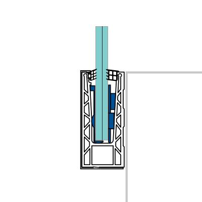 perfiles de aluminio para barandillas fijación lateral