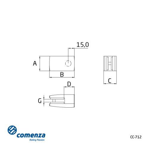 Plano para cristal cc-712
