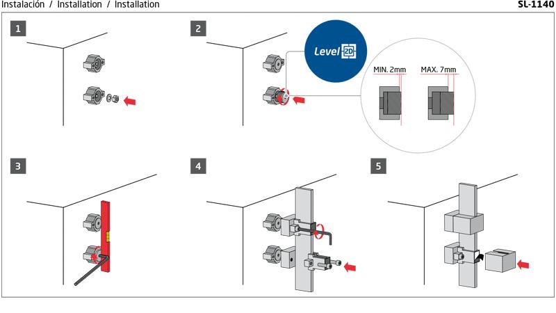 Instrucciones de montaje sl-1140 comenza