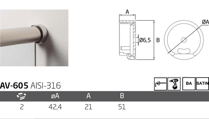 av-605 ficha tecnica de producto
