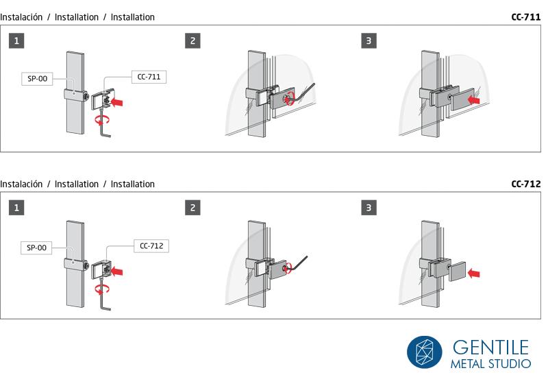 Pinza para cristales cç-771 instrucciones montaje